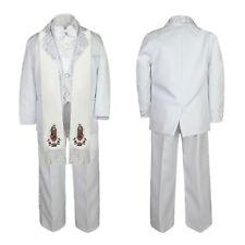 Baby Boys Azul Marino Smart Outfit Arco Chaleco Boda Bautizo