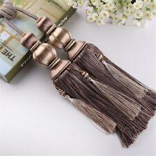 1 Pair Smooth Tassels Tiebacks For Curtains Braided Rope Lantern Ball Tie Backs