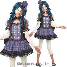 CK569 Broken Doll Tween Girls Halloween Fancy Dress Party Gothic Costume Outfit