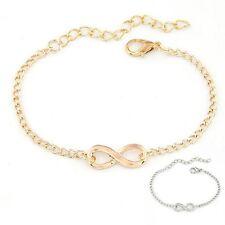 """Bracelet infini pour femme et homme en alliage ''Or / Argent"""""""