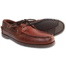 Mens Sebago Schooner Waxed Leather Docksides Boat Shoes