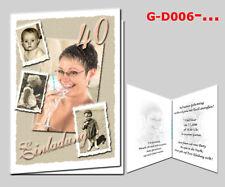 Karten DIN A6 individuell bedruckt mit Fotos Einladung Anzeige Danksagung