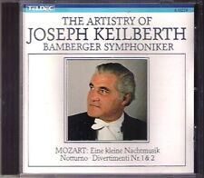 Joseph Keilberth: MOZART Une Petite Nuit Musique Serenade No. 8 Divertimento CD