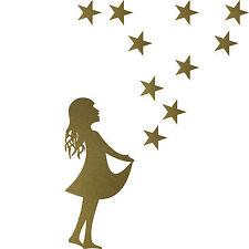 christmas Xmas Display Shop Home Window Decals Stickers starchild stars child