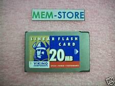 MEM-I/O-FLC20M 20MB Flash Card for Cisco 7200 Approved