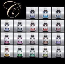 Tinte für Füller | 50ml Tintenglas Tintenfass von Rohrer & Klingner Schreibtinte