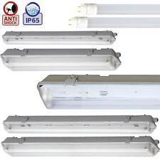 60 120 150cm LED Feuchtraumleuchte Feuchtraumlampe Wannenleuchte Röhre Tube IP65