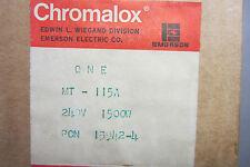NEW CHROMALOX 13942-4 SCREW PLUG IMMERSION 139424