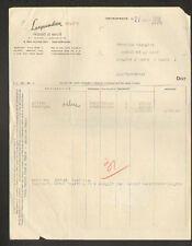 """IVRY-sur-SEINE (94) PRODUITS de BEAUTE / COSMETIQUE """"LESQUENDIEU"""" en 1955"""