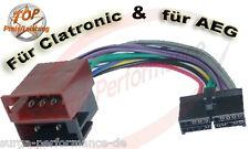 AEG / PROLOGY CLATRONIC Autoradio Kabel Adapter ISO PROLOGY / Xomax XM DTSB 904