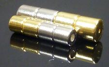 Magnético broches fuerte De Plata Chapado en oro para joyería 2 Pares