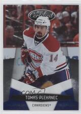 2010-11 Certified Platinum Blue 76 Tomas Plekanec Montreal Canadiens Hockey Card