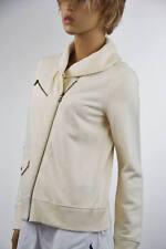 Ralph Lauren Jean Company Cream Knit Cardigan Collared Jacket -NWT