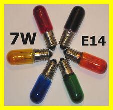 7W Glühbirne bunt rot grün gelb blau orange lila farbig