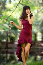 Mexican Flamenco Salsa Dress - Bohemian Gypsy Hippie Fairy Wild Sexy Dress