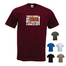 """""""esto es lo que un impresionante novio se ve como"""" Regalo Cumpleaños Navidad Gracioso Camiseta"""