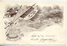 6° Reggimento Fanteria di Linea Brigata Aosta WWI PC Viaggiata 1902 Italy