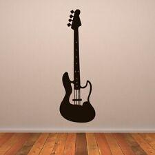 Bass Électrique Guitare Instrument De Musique Autocollant Art Mur (AS10160)
