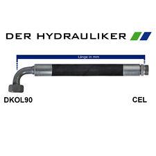 Hydraulikschlauch 2SC 10L(NW08)/12L(NW10) mit DKOL90/CEL, metrisch 315 bar