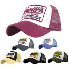 Embroidered Summer Cap Mesh Hats For Men Women Casual Hats Hip Hop Baseball Caps