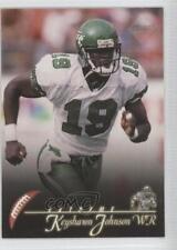 1997 Collector's Edge Extreme #121 Keyshawn Johnson New York Jets Football Card