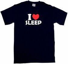 I Heart Love Sleep Mens Tee Shirt Pick Size Color Small-6XL