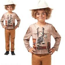 Dino Explorer Boys Costume Kit Safari Jungle Zoo Keeper Childrens Fancy Dress Co