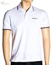 Rabatt 50/% Ben Sherman T-Shirt Druck Mb00238 Weiß L XXL Kurzarmtrikot