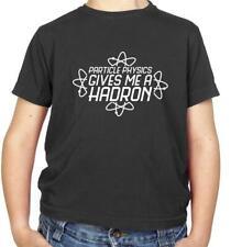 6e5e2df1c69b4a Fisica delle particelle mi dà un adrone Kids T-Shirt-fisico-SCIENCE -