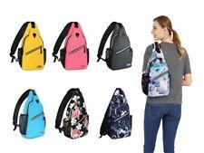 Mosiso Men Women Sling Backpack Cross body Chest Bag, Hiking, Camping, Travel