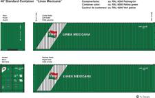 2198 - Decals Linea Mexicana Beschriftungen 1:87