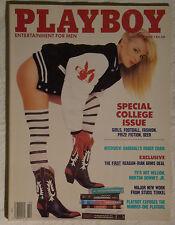 Original Playboy Magazine October 1988 College Issue, Shannon Long, Roger Craig