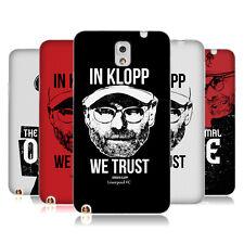 OFFICIAL LIVERPOOL FOOTBALL CLUB JURGEN KLOPP SOFT GEL CASE FOR SAMSUNG PHONES 2