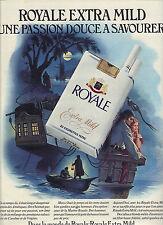 PUBLICITE  1976  ROYALE  la cigarette extra mild