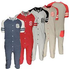 Homme/Femme Nouveau 3/4 Court Longueur Onsie Combinaison Jump Suit De Baseball Américain