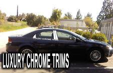 Chrysler Sebring Stainless Chrome Pillar Posts by Luxury Trims 2001-2006 (6pcs)