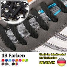 16 Stück Elastische Silikon Schnürsenkel für Sneaker Stiefel und Brettschuhe