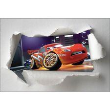 Stickers enfant papier déchiré Disney Cars réf 7591