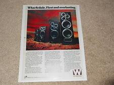 Wharfedale E90 Speaker Ad, 1979, 1 page, E50, E30, E70, Article, Specs
