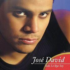 Todo Lo Que Soy David, Jose MUSIC CD