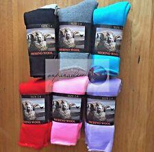 3 Pairs size 2-8 Top Quality 90% Merino Wool SUPER SOFT WARM Dress Work Socks