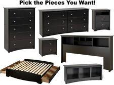 Black Bedroom Furniture Sets Dresser Drawer Nightstand Chest Dressers Durable