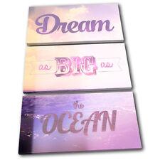 Dream Vintage  Typography TREBLE TOILE murale ART Photo Print