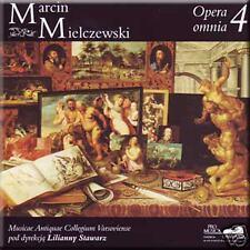MIELCZEWSKI OPERA OMNIA 4 LILIANNA STAWARZ NEW CD