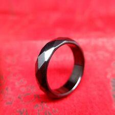 Sz 8 9 10 11 12 13 Leklai Faceted Ring Hematite Psychic Wicca Thai Amulet Spells