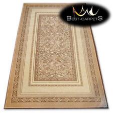 "TRADITIONAL AGNELLA RUGS beige frames ""STANDARD"" modern designs carpet"