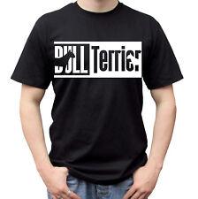 Bull Terrier Perro Negro camiseta Prenda para el torso Camiseta Diseño-Para Hombre Mujer Niños Tamaños