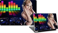 Laptop Skins DJ Discoteca Adesivo Vinile Copertura Personalizzata personalizzare Autoadesivo