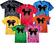 0043b1b735527d Family VACATION Disney 2018 Mickey   Minnie MATCHING Tie Dye T-Shirts