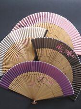 Eleganter Fächer Handfächer Sommer Handgemalte Bemusterte Bambus